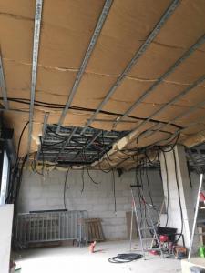 Pose de faux-plafond près de Béthune