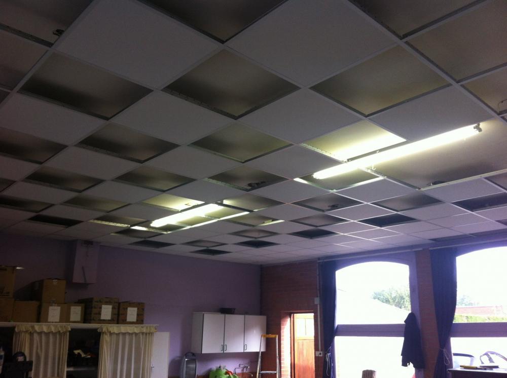 Pose De Faux Plafond A Bethune Plafond Tendu Et Plafond